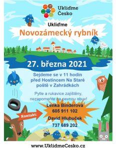 plakát ukliďme Česko 3/2021
